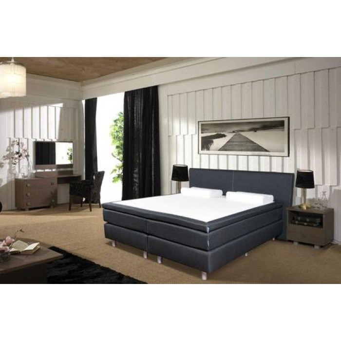 boxspring dubai 160x200. Black Bedroom Furniture Sets. Home Design Ideas